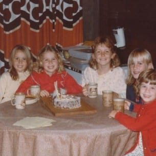 My 9th Birthday - 1983