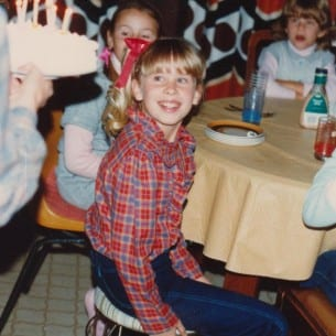 My 10th Birthday - 1984