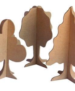 Plain 3D Trees