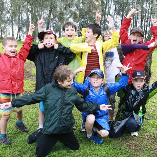 Oscar & his bushwalking buddies