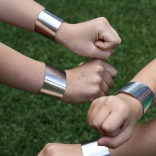 Superhero Wrist Cuff Bands