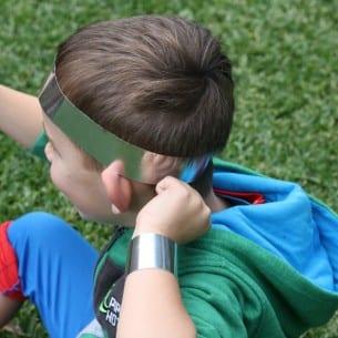 Superhero Headband Cuff Bands