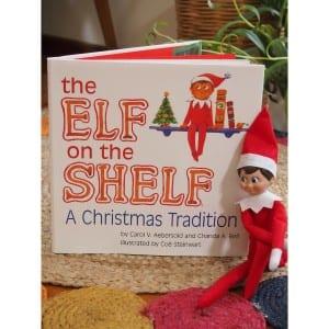 Our Christmas Elf on the Shelf