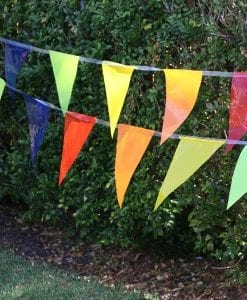 Multicoloured Pary Bunting Flag-10m