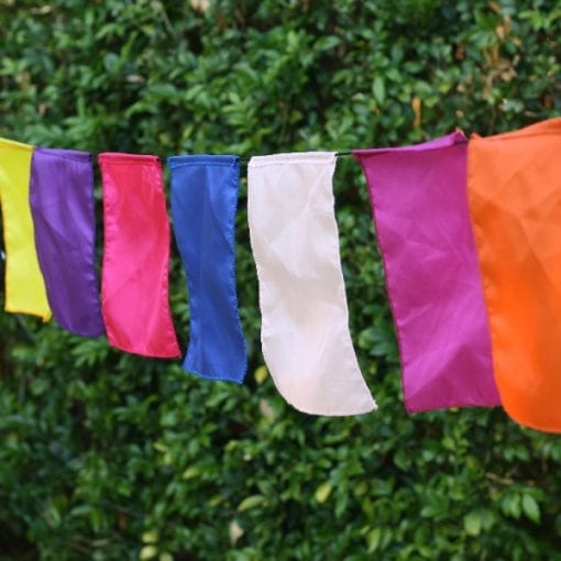 Multi Coloured Bali Bunting