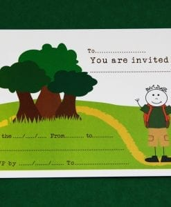 Adventure Invitation Cards