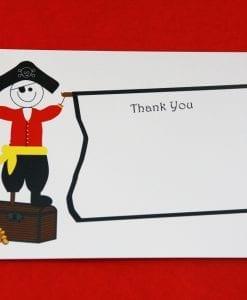 Pirate Party Thankyou Card