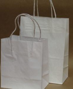 Small White Kraft Paper Bags