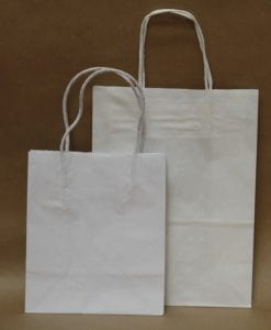 Small White Kraft Paper Bags
