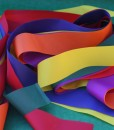Coloured Dancing Ribbons