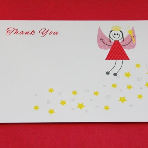 Fairy Thankyou Card