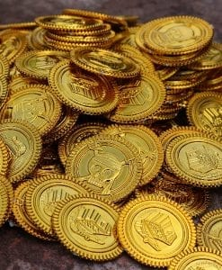 Pirate Gold Coin Treasure