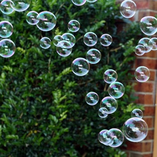 Bubble Wand Bubbles