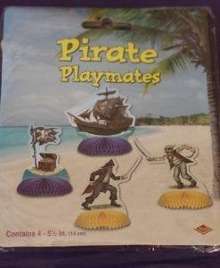 Pirate Honeycomb Decorations