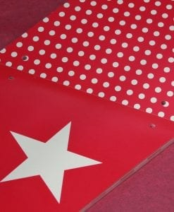 Shmick Pink Bunting Flags