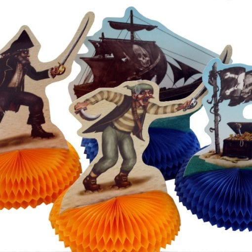 Pirate Characters Table Centrepiece