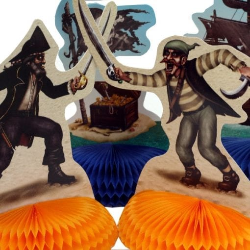 Pirate Table Centrepieces