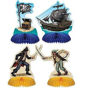 Pirate Honeycomb Table Decorations