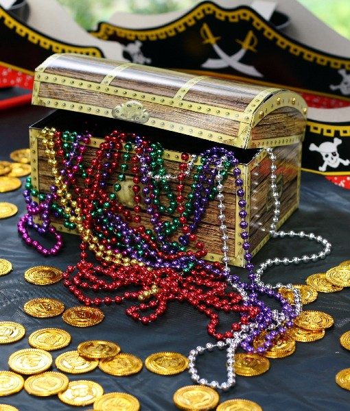 Pirate Party Treasure Chest Party Ideas In a Box