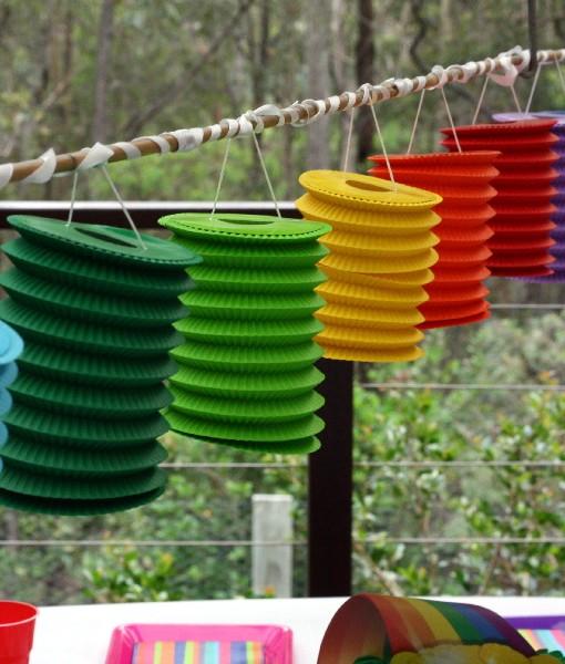 Coloured Lanterns