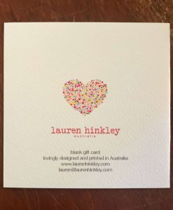 Heart Birthday Card and Gift Card