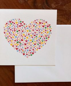 Heart Birthday Card with Envelope