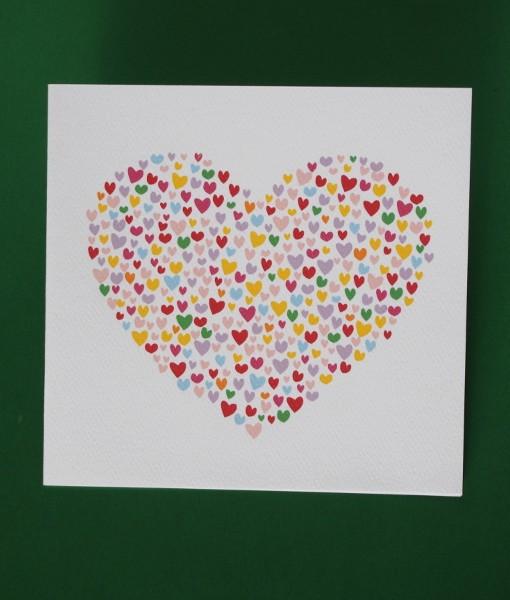Heart Birthday Card