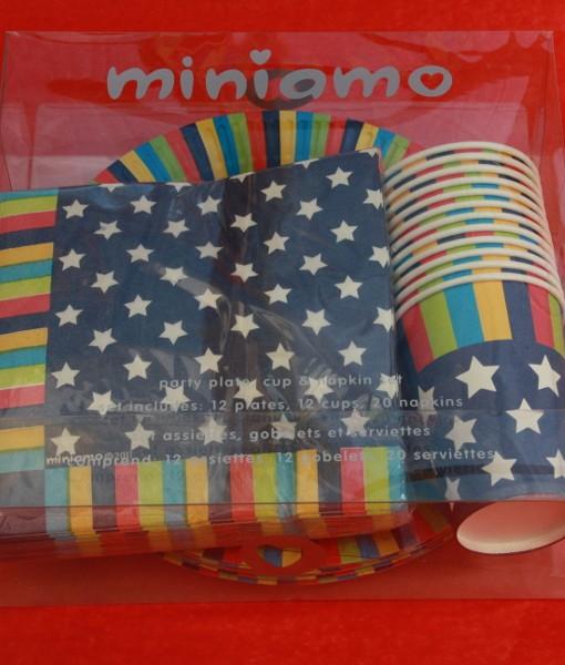Miniamo Bold Stars Party Pack