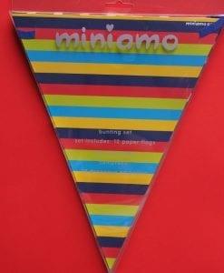 Miniamo Bold Colour Bunting
