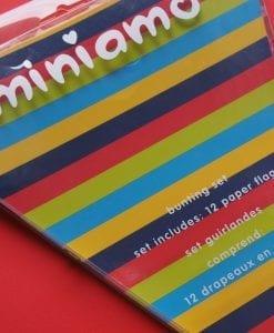 Miniamo Stars & Stripes Bunting Garland