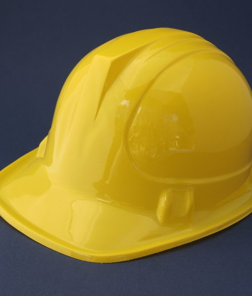 Yellow construction hard hat is the easiest dress up costume for kids construction themed birthday parties. Complete the look with a reflective safety vest. The Construction Hard Hat is the perfect dress up for your kids construction themed party. As seen on worksites everywhere, the hard hat is an essential piece of equipment for your party construction site. Match the hat with our orange reflective safety vest for the complete construction worker look!