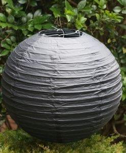 Black Paper Lantern 30cm