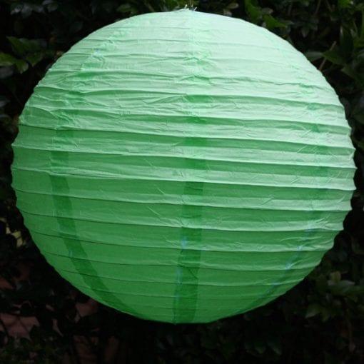Green Paper Lantern 40cm