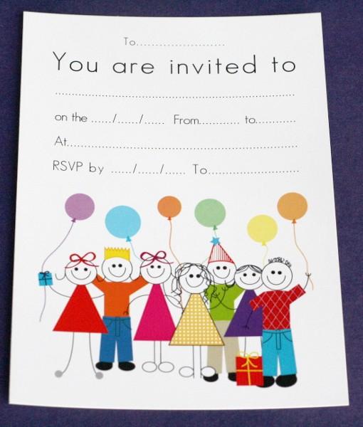Birthday Invitation Cards
