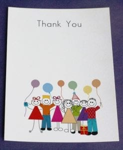 Birthday Thankyou Cards