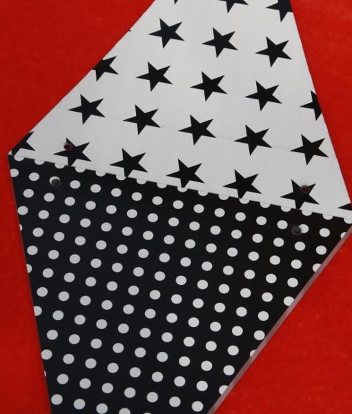 Shmick Black Bunting Flags