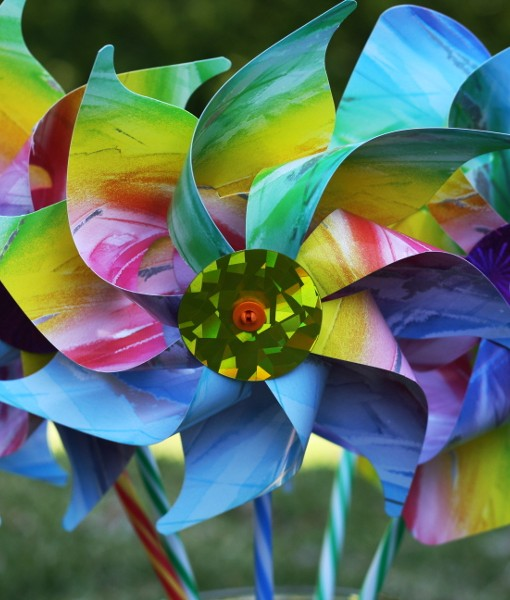 Pastel Carnival Windmill