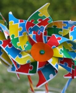 Jigsaw Toy Windmill