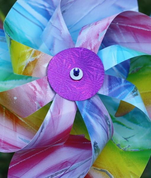 Pastel Coloured Windmill