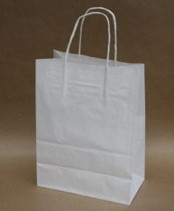 White Large Paper Bag