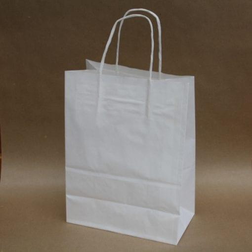 White Large Paper Bag