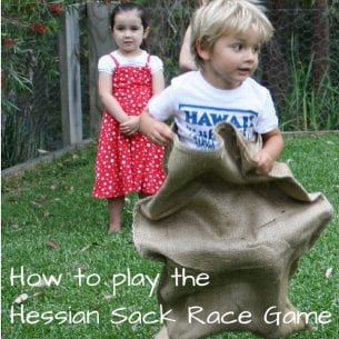 How to Play the Hessian Sack Race Game