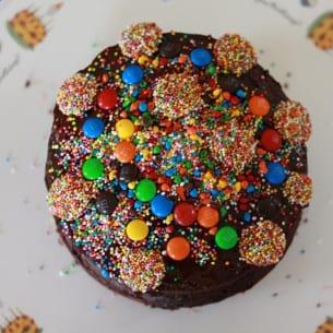 Ta Dah! The birthday cake!