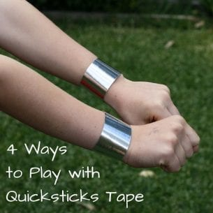 4 Ways to Play with Quicksticks Tape