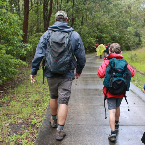 Jasper's 9th Birthday Bushwalking Party