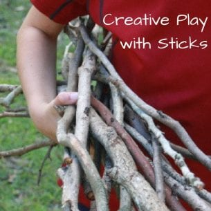 Creative Play with Sticks