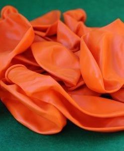 Plain Orange Party Balloons