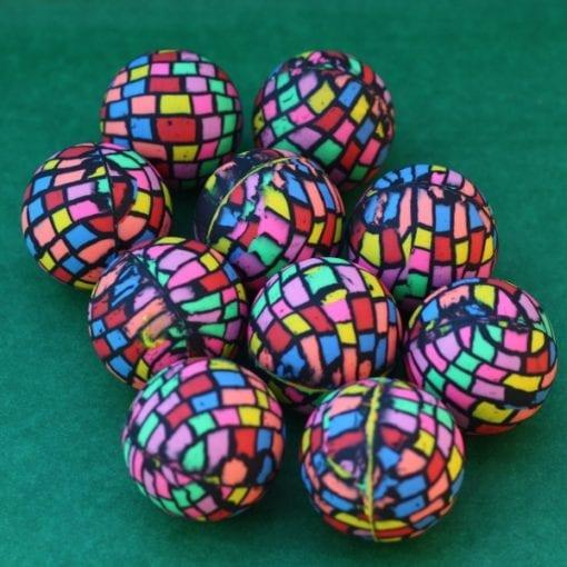 Rainbow Rubber Bouncing Ball