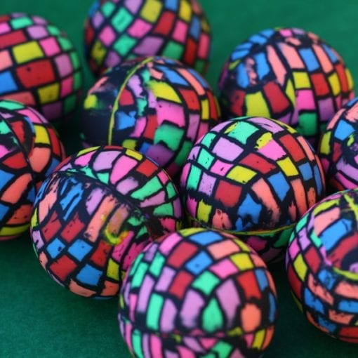 Multi Coloured Bouncing Ball