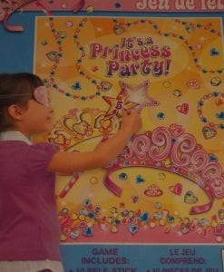 Pin the Star Princess Party Game